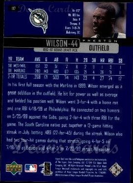 2000 Upper Deck #117  Preston Wilson