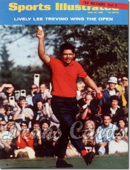 1968 Sports Illustrated   June 24  -  Lee Trevino