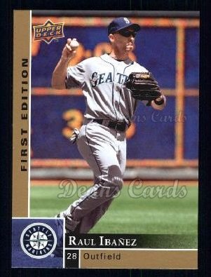 2009 Upper Deck First Edition #259  Raul Ibanez