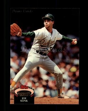 1992 Topps Stadium Club #326  Joe Klink