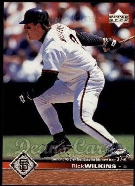 1997 Upper Deck #498  Rick Wilkins