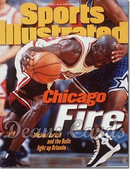 1996 Sports Illustrated   June 3  -  Michael Jordan (Chicago)