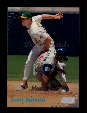1998 Topps Stadium Club #19  Scott Spiezio