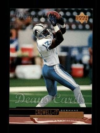 1999 Upper Deck #74  Germane Crowell