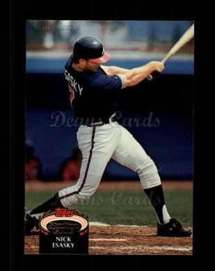 1992 Topps Stadium Club #497  Nick Esasky