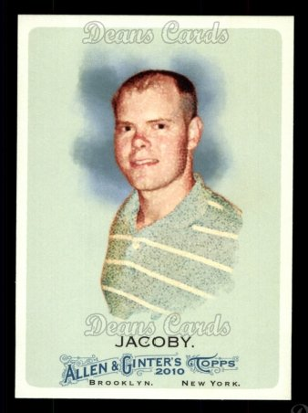 2010 Topps Allen & Ginter #165  Nick Jacoby