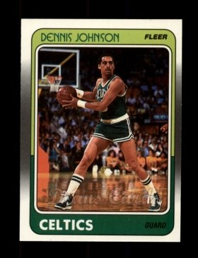 1988 Fleer #10  Dennis Johnson