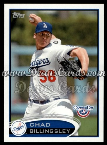 2012 Topps Opening Day #205  Chad Billingsley