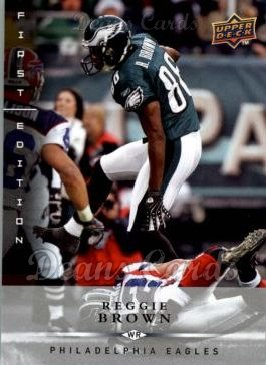 2008 Upper Deck First Edition #110  Reggie Brown
