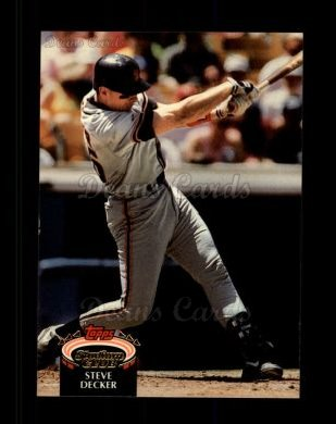 1992 Topps Stadium Club #417  Steve Decker