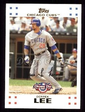 2007 Topps Opening Day #161  Derrek Lee