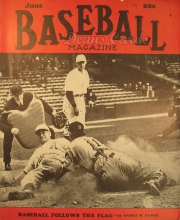 1941 Baseball Magazine    June