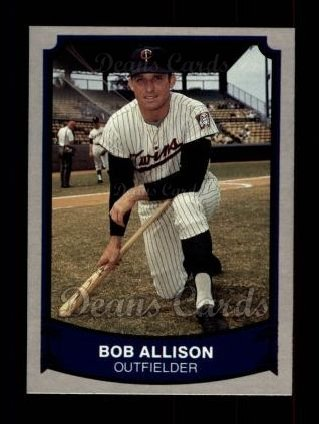 1989 Pacific Legends #165  Bob Allison