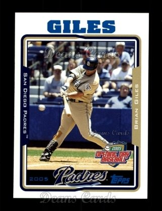 2005 Topps Opening Day #15  Brian Giles