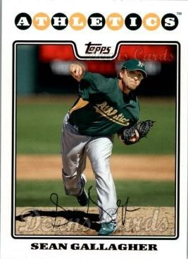 2008 Topps Updates #97  Sean Gallagher