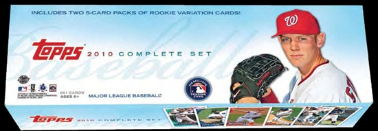 2010 Topps     Baseball Complete Factory Sealed Holiday Set
