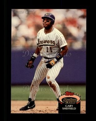 1992 Topps Stadium Club #309  Gary Sheffield