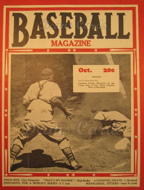 1937 Baseball Magazine    October