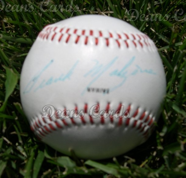 Frank Malzone Autographed Ball