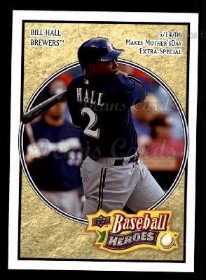 2008 Upper Deck Heroes #129  Bill Hall