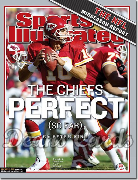 2003 Sports Illustrated   November 17  -  Trent Green (Kansas City Chiefs)