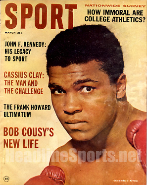 1964 Sport Magazine   -  Cassius Clay  March