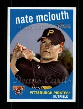 2008 Topps Heritage #290  Nate McLouth