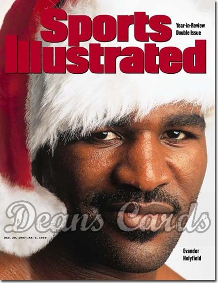1997 Sports Illustrated - With Label   December 29  -  Evander Holyfield