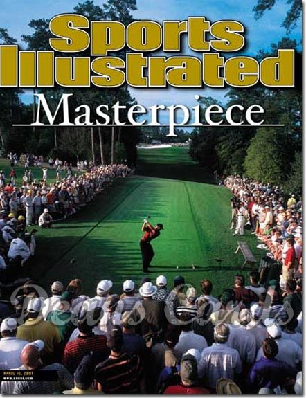 2001 Sports Illustrated   April 16  -  Tiger Woods