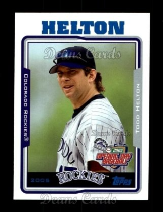 2005 Topps Opening Day #99  Todd Helton