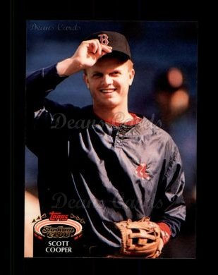 1992 Topps Stadium Club #377  Scott Cooper