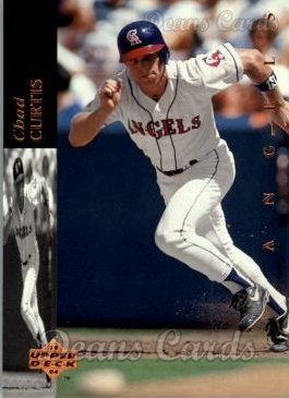 1994 Upper Deck #82  Chad Curtis