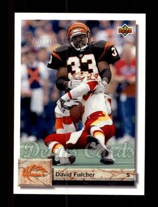 1992 Upper Deck #56  David Fulcher