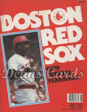 1979 Boston Red Sox Yearbook - Jim Rice