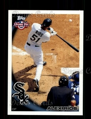 2010 Topps Opening Day #131  Alex Rios