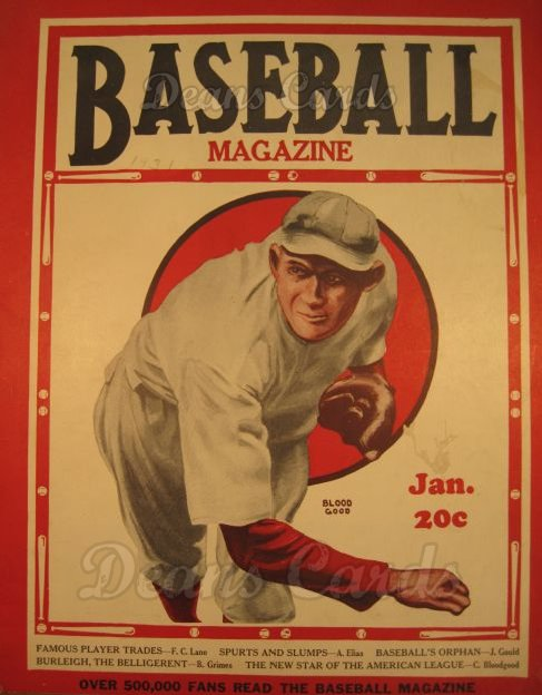 1931 Baseball Magazine    January