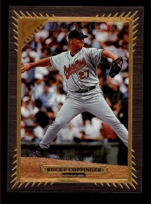 1997 Topps Gallery #155  Rocky Coppinger
