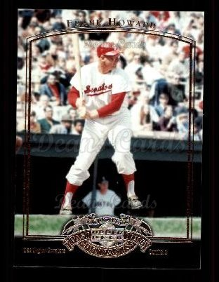 2005 Upper Deck Past Time Pennants #29  Frank Howard