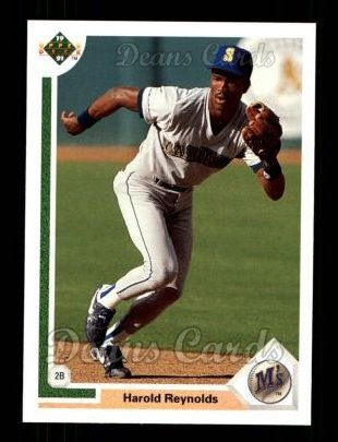 1991 Upper Deck #148  Harold Reynolds