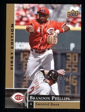 2009 Upper Deck First Edition #79  Brandon Phillips