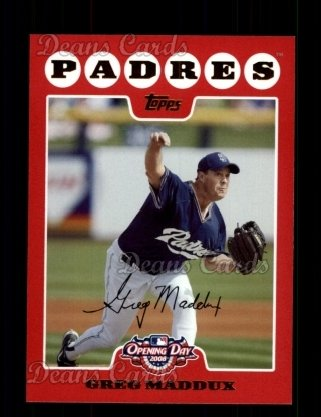 2008 Topps Opening Day #171  Greg Maddux
