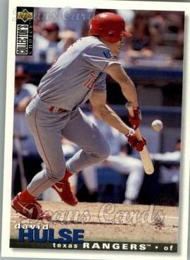 1995 Upper Deck Collector's Choice #392  David Hulse