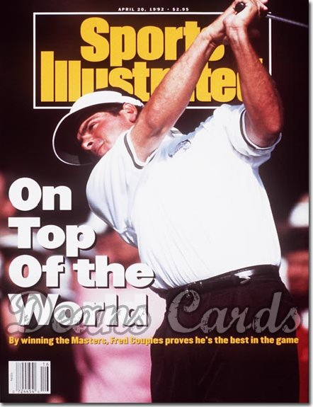 1992 Sports Illustrated - With Label   April 20  -  Fred Couples