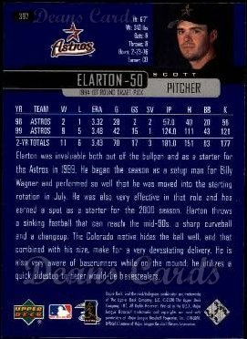 2000 Upper Deck #397  Scott Elarton