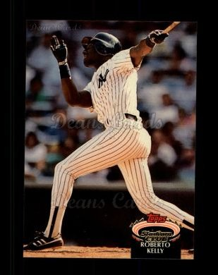 1992 Topps Stadium Club #393  Roberto Kelly