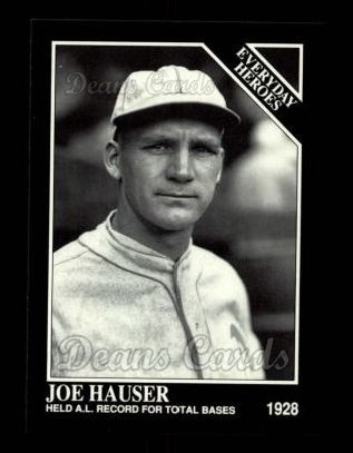 1992 Conlon #548   -  Joe Hauser Everyday Heroes