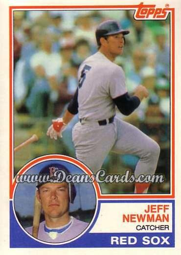 1983 Topps Traded #80 T Jeff Newman
