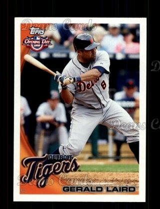 2010 Topps Opening Day #124  Gerald Laird
