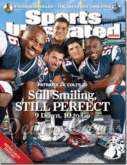 2007 Sports Illustrated   November 12  -  Adalius Thomas