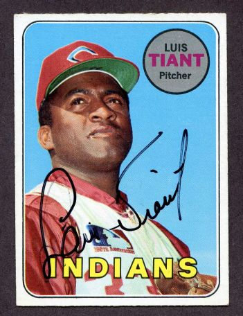 1969 Topps #560  Luis Tiant